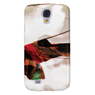 The Electrik Flagg Orange/red/green Samsung Galaxy S4 Cases