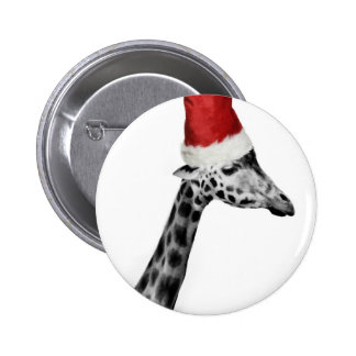 The Elegance of the Christmas Giraffe Button