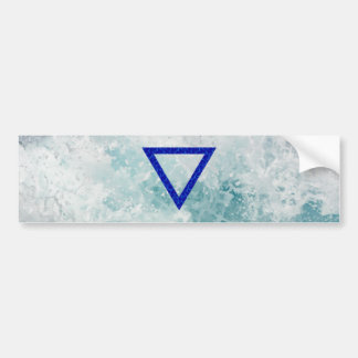 The Element Water Symbol Bumper Stickers