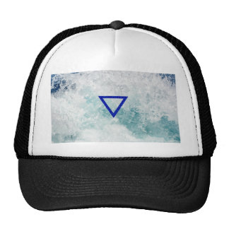 The Element Water Symbol Mesh Hat
