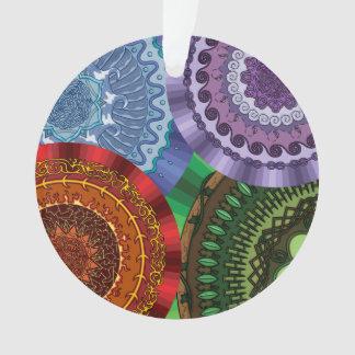The Elements Mandalas Acrylic Ornament
