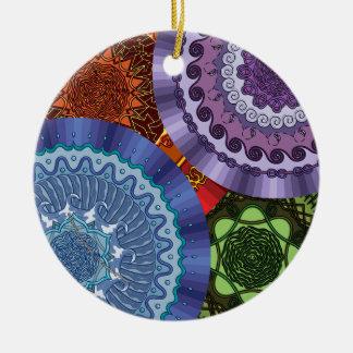 The Elements Mandalas Ornament