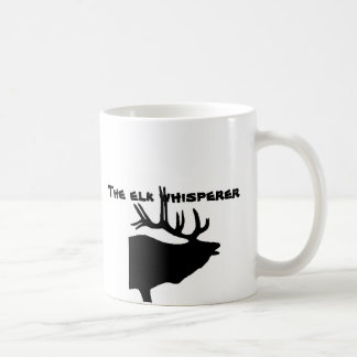 The Elk Whisperer Basic White Mug