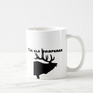 The Elk Whisperer Classic White Coffee Mug