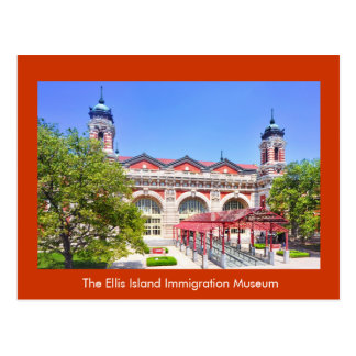 The Ellis Island Immigration Museum Postcards