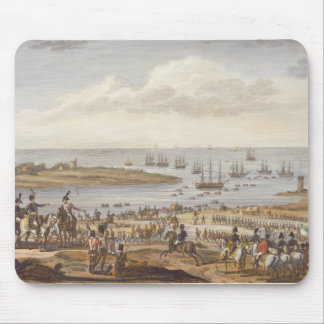 The Embarkation of the English in Holland, 30 Nove Mouse Pad