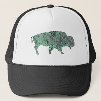THE EMERALD BUFFALO TRUCKER HAT