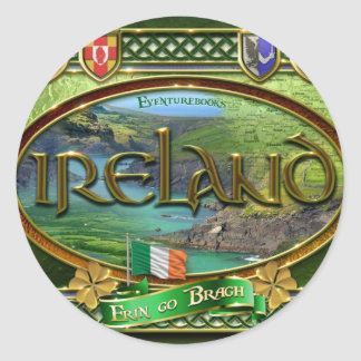 The Emerald Isle Classic Round Sticker