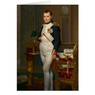 The Emperor Napoleon in his study at the Tuileries Greeting Card
