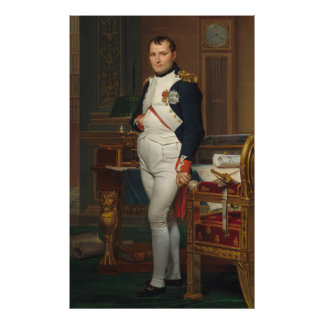 The Emperor Napoleon in His Study at the Tuileries Poster