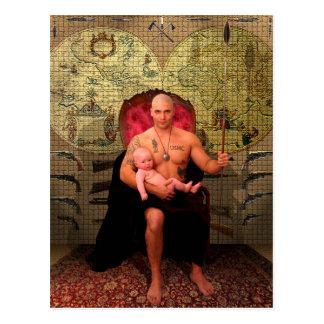 The Emperor Tarot Card Art