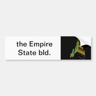 the Empire State bld. Bumper Sticker