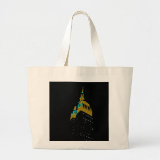the Empire State bld. Large Tote Bag