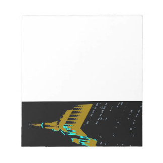 the Empire State bldg. Notepad