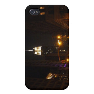The Empire State Building at Night Cases For iPhone 4