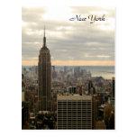 The Empire State Building (Colour) Postcard