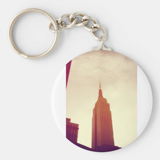 The Empire State Building NYC Key Chain