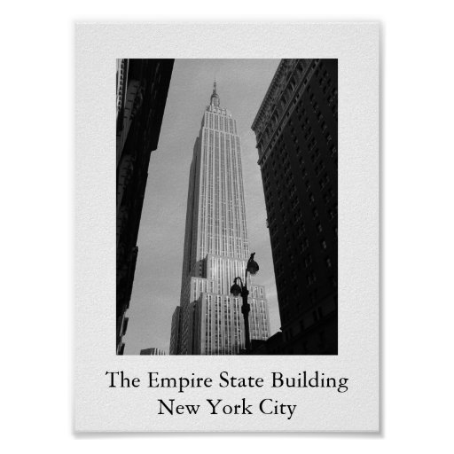 The Empire State Building Posters