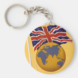 The Empire's Airline Basic Round Button Key Ring