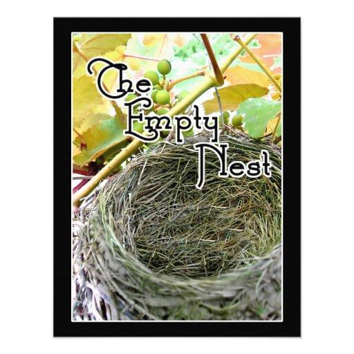 The Empty Nest Personalized Invites