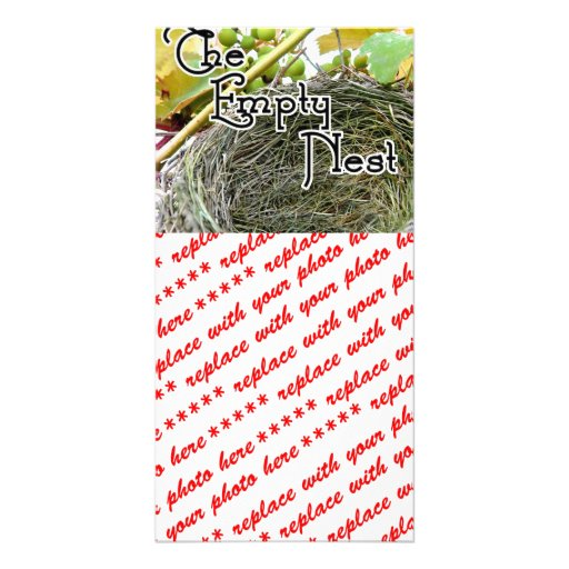The Empty Nest Photo Greeting Card