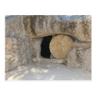 The Empty Tomb of Jesus Christ on Postcard