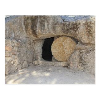 The Empty Tomb of Jesus Christ on Postcard