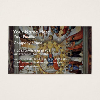 The Empyrean And Figures From The Eight Heavens Business Card