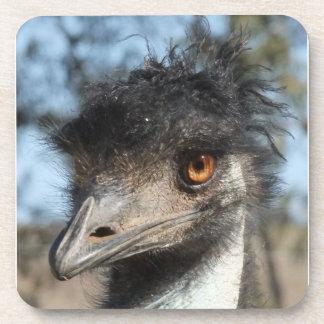 The Emu Beverage Coaster