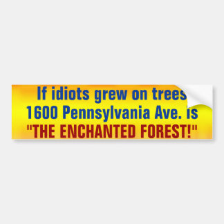 The Enchanted Forest Car Bumper Sticker
