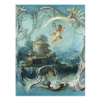 The Enchanted Home by Francois Boucher Postcard