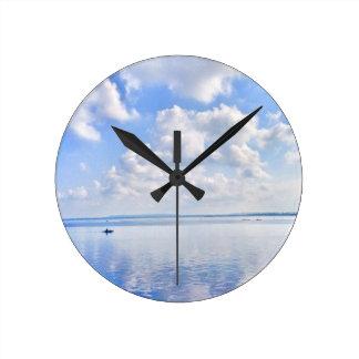 The Enchanted Virgin Island Round Clock