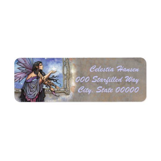 The Enchanted Window Fairy Fantasy Art Labels
