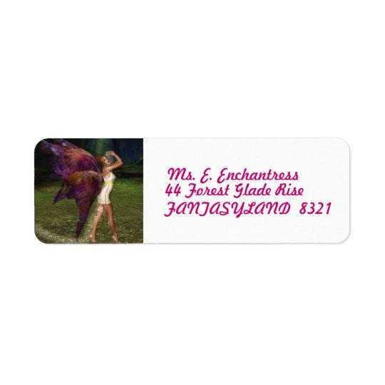 The Enchanter Return Address Label
