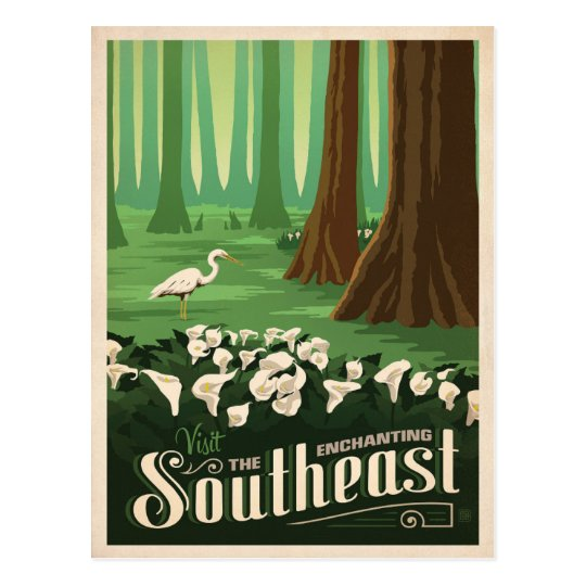 The Enchanting Southeast | United States Postcard