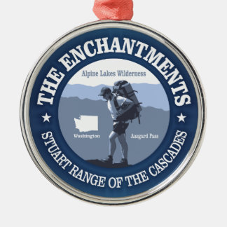 The Enchantments (rd) Metal Ornament