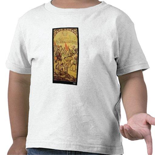 The encounter between Hernando Cortes Shirt