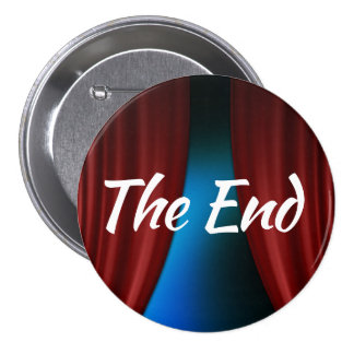 The End 7.5 Cm Round Badge