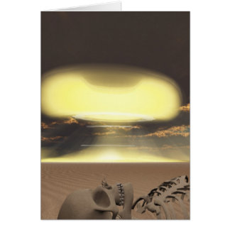 The end of days greeting card