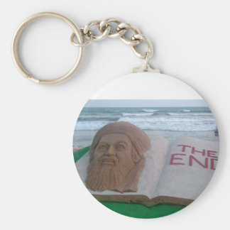 The End Of Osama Basic Round Button Key Ring