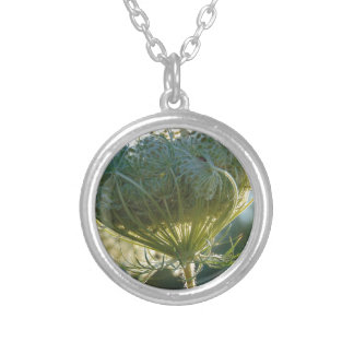 The End of Summer Silver Plated Necklace