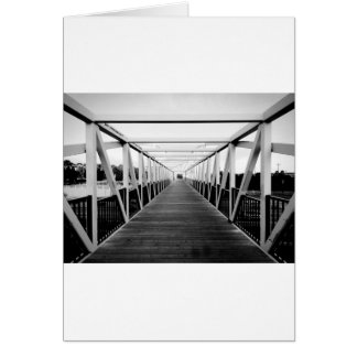 The End Of The Bridge Greeting Cards