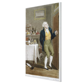 The End of the Gastronomes Canvas Print