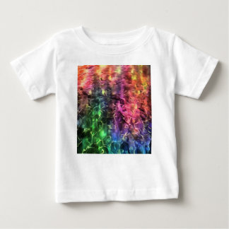 The End Of The Rainbow Abstract Baby T-Shirt