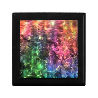 The End Of The Rainbow Abstract Gift Box