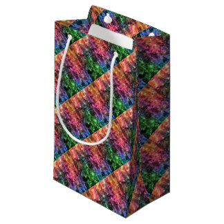 The End Of The Rainbow Abstract Small Gift Bag