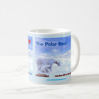 The Endangered Polar Bear - Coffee Mug