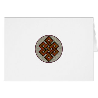 The Endless Knot Card