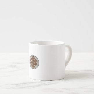 The Endless Knot Espresso Cup