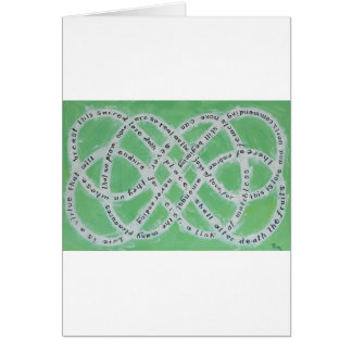 The Endless Knot of Love Card 2